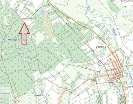 Działka rolna 0,23ha Stanisławówka gm. Dubienka