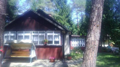 Słoneczna działka z domkiem w Urlach nad Liwcem