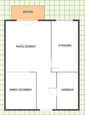 2 pokoje w Radzyminie, strzeżone osiedle